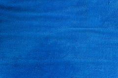 Backgound голубого хлопка febric для дизайна Стоковые Изображения RF