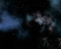 Backgound неба космоса Стоковое Фото