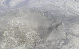 Backgound льда Стоковое Фото