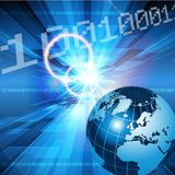 Backgound astratto di tecnologia Fotografie Stock