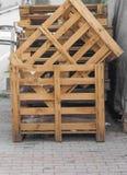backgound CEN ευρο- παλετών μερών σωρών λευκό αποθηκών εμπορευμάτων σειράς πρότυπο Στοκ φωτογραφία με δικαίωμα ελεύθερης χρήσης