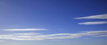 Backgound chmury pierzastej chmury Obraz Stock