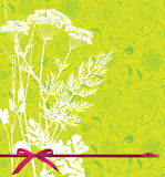 Backgound com plantas. Imagem de Stock
