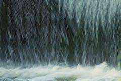 Backgound de la cascada, cierre para arriba Foto de archivo