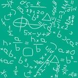 Backgound de la matemáticas Imagen de archivo