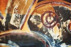 Backgound de la pintada, grunge Foto de archivo libre de regalías