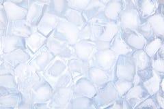 Backgound de los cubos de hielo Imagenes de archivo