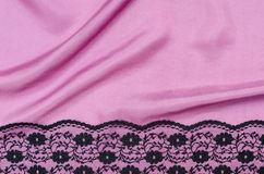 Backgound de seda da textura Foto de Stock