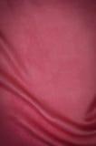 Backgound de seda vermelho da textura Fotos de Stock