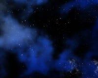 Backgound del cielo dello spazio Fotografia Stock