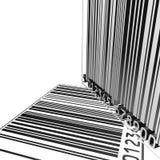 backgound del codice a barre 3D Fotografia Stock Libera da Diritti