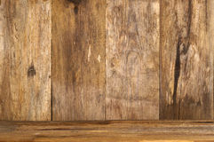 Backgound di legno Fotografia Stock Libera da Diritti