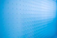 Backgound di vetro blu astratto Fotografia Stock