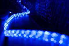 Backgound do cabo da iluminação Foto de Stock Royalty Free
