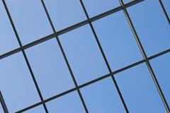 Backgound: glas venster Royalty-vrije Stock Afbeeldingen