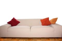 Backgound - grande sofà comfy Fotografia Stock Libera da Diritti