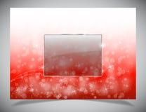 Backgound leggero astratto di inverno Fotografie Stock Libere da Diritti
