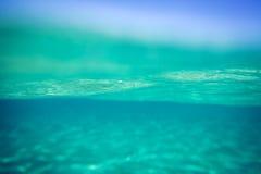 Backgound subacuático Imagen de archivo libre de regalías
