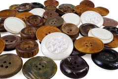 Backgound of various sewing button royalty free stock photography