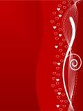 Backgr abstracto del día de tarjetas del día de San Valentín stock de ilustración