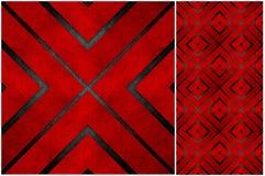 Backgr de mosaïque réutilisé par grunge abstraite de métier de papier Image libre de droits
