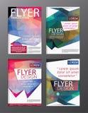 Backgr för broschyr för reklamblad för årsrapport för orienteringsdesignmall modern Royaltyfri Bild