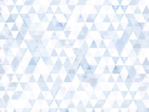 Backgr för webbsida för illustration för bakgrundstriangelabstrakt begrepp Arkivfoto
