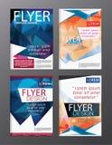 Backgr moderne de tract d'insecte de rapport annuel de calibre de conception de disposition Photos stock