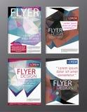 Backgr moderne de tract d'insecte de rapport annuel de calibre de conception de disposition Images stock