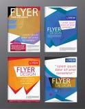Backgr moderne de tract d'insecte de rapport annuel de calibre de conception de disposition Photo stock