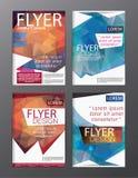 Backgr moderne de tract d'insecte de rapport annuel de calibre de conception de disposition Image stock