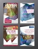 Backgr moderno do folheto do inseto do informe anual do molde do projeto da disposição Fotografia de Stock Royalty Free
