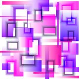 Backgr_Rectangles_pink-purple Photos stock
