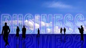 Backgr simbolic do negócio liso Fotos de Stock