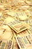 Backgraound indiano di valuta Fotografie Stock
