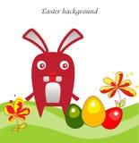 backgraund兔宝宝复活节 皇族释放例证