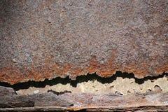 Backgraund,美丽,生锈的金属 库存图片