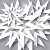 Backgraund abstrato do floco de neve Fotos de Stock
