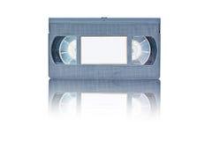 backgro cassete retro taśmy wideo biel Zdjęcie Stock