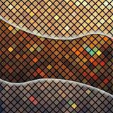 Backgrond astratto con il mosaico Fotografia Stock