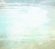 Backgrond azul claro de la acuarela del grunge de la pintura Fotografía de archivo libre de regalías
