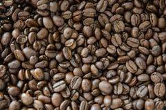 Backgrond för kaffeböna fotografering för bildbyråer