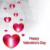 Backgrond felice di giorno di biglietti di S. Valentino nuovo Immagini Stock