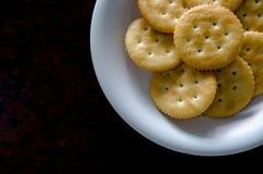 Backgrond savoureux de biscuits Photos libres de droits