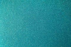 Backgrond verde blu della carta da imballaggio dell'acquamarina di scintillio metallico, primo piano Copi lo spazio per testo Ori fotografia stock