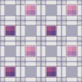 Backgrou à carreaux de modèle de plaid de texture de tartan sans couture de textile Image libre de droits
