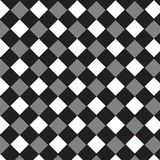 Backgrou diagonal de modèle rayé d'argent noir et de diamant blanc illustration libre de droits