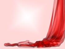 backgroud κόκκινο υφάσματος διανυσματική απεικόνιση