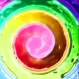 backgroud abstracto del color Imagenes de archivo