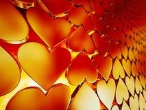 Backgroud de los corazones Fotos de archivo libres de regalías